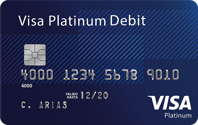 Visa Debit Platinum Card