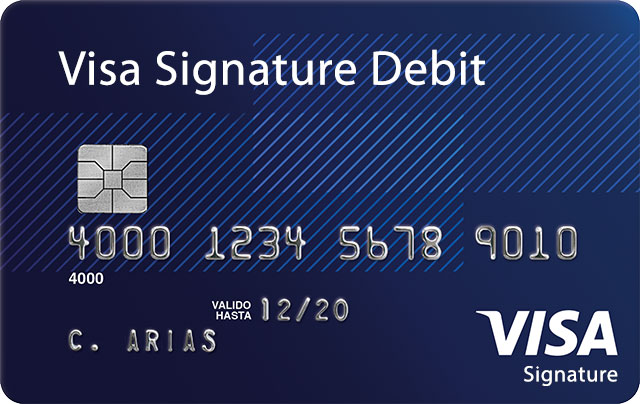 Visa Debit Signature Card